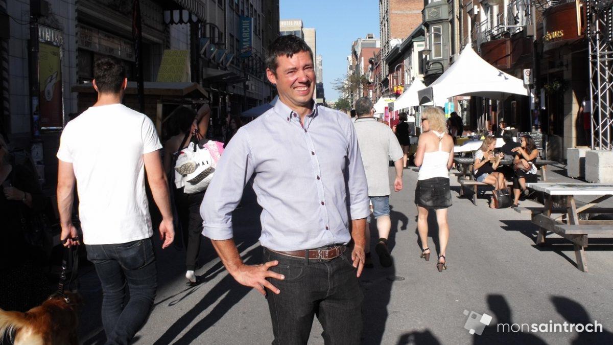 Pierre-Luc Lachance, conseiller municipal Saint-Roch - Saint-Sauveur