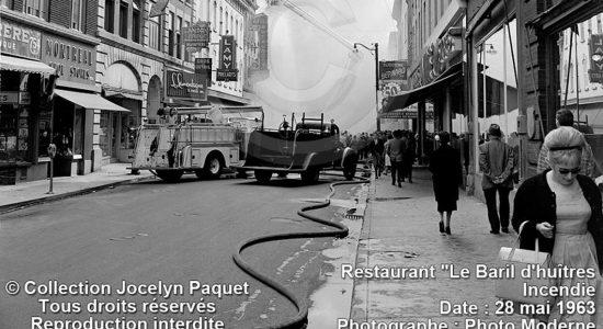 Saint-Roch dans les années 1960 (24) : incendie au Baril d'huîtres - Jean Cazes