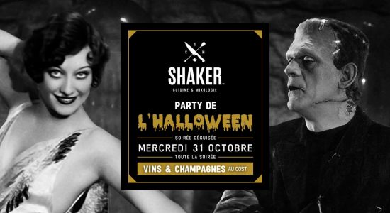 Party d'Halloween – Shaker St-Joseph