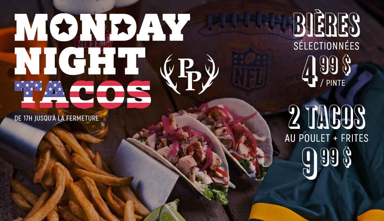 Monday Night Tacos | Pub du Parvis