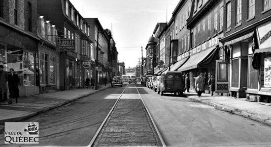 Saint-Roch dans les années 1940 (15) : rails de tramway sur la rue Saint-Joseph - Jean Cazes