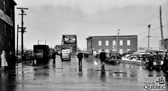 Saint-Roch dans les années 1950 (21) : Intersection Pont-Drouin et Dorchester - Jean Cazes