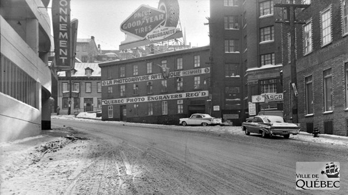 Saint-Roch dans les années 1950 (20) : intersection Dorchester et Saint-Vallier Est | 24 février 2019 | Article par Jean Cazes