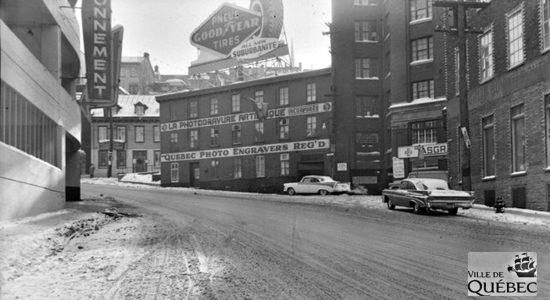 Saint-Roch dans les années 1950 (20) : intersection Dorchester et Saint-Vallier Est - Jean Cazes