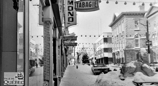 Saint-Roch dans les années 1960 (27) : rue Saint-Joseph Est - Jean Cazes