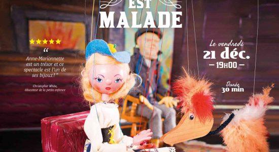 Spectacle de marionnettes – La dinde est malade