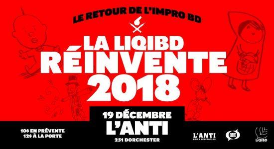 La LiQIBD réinvente 2018