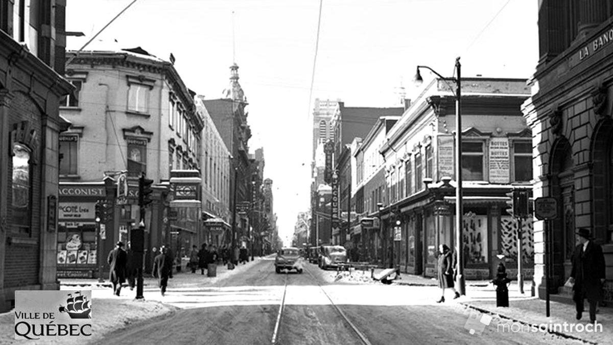 Saint-Roch dans les années 1940 (14) : quand le tramway circulait sur Saint-Joseph | 10 février 2019 | Article par Jean Cazes
