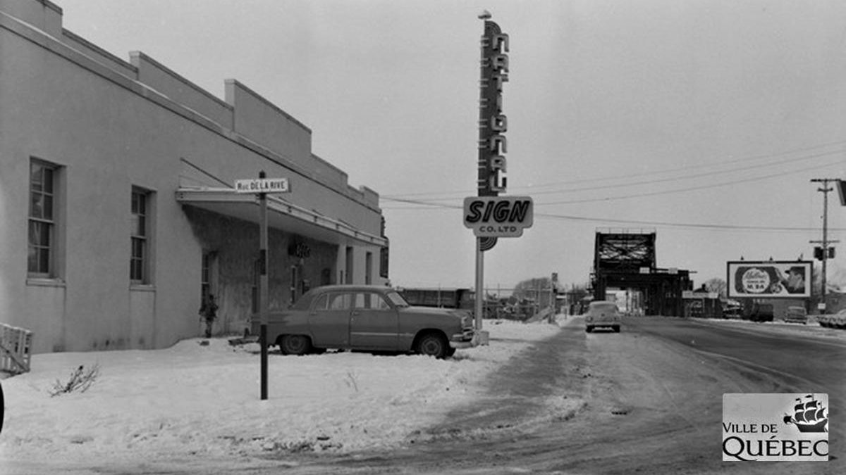 Saint-Roch dans les années 1950 (19) : National Sign Co. Ltd | 27 janvier 2019 | Article par Jean Cazes