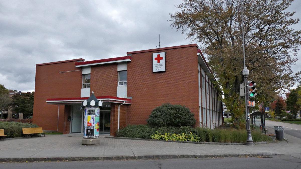 L'édifice de la Croix-Rouge en date du 13 octobre 2018.