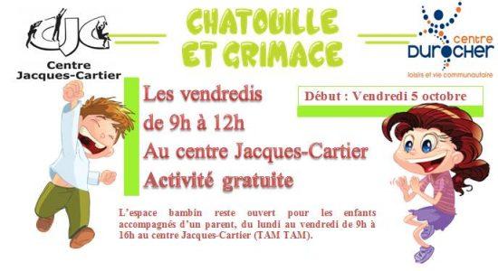Chatouille et grimace – CJC