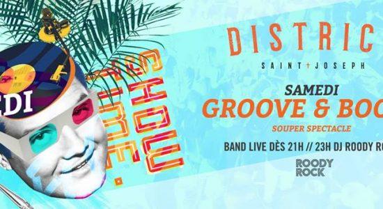 Les samedis Groove & Booze