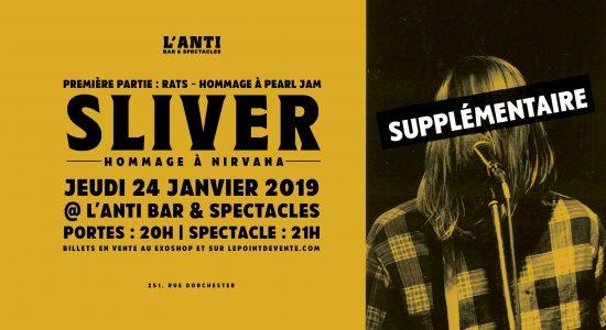 Sliver, hommage à Nirvana et Rats, hommage à Pearl Jam