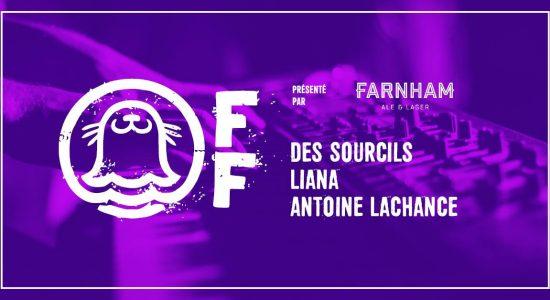 Des Sourcils, Liana Bureau, Antoine Lachance – Phoque OFF 2019