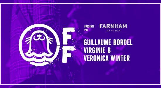Phoque OFF: 5@7 – Guillaume Bordel, Virginie B, Veronica Winter