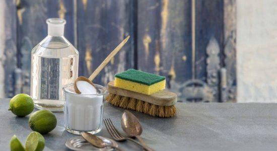 Maison saine et produits ménagers