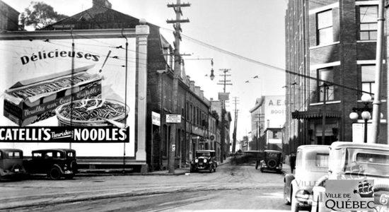 Saint-Roch dans les années 1920 (2) : intersection des rues de la Couronne et Saint-Vallier - Jean Cazes