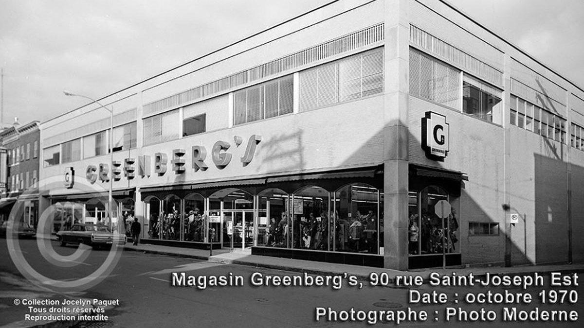 Saint-Roch dans les années 1970 (25) : le magasin Greenberg | 21 avril 2019 | Article par Jean Cazes