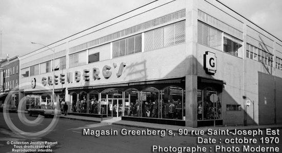 Saint-Roch dans les années 1970 (25) : le magasin Greenberg - Jean Cazes