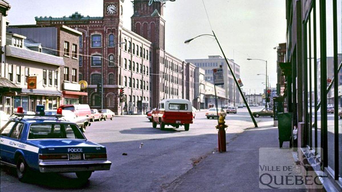 Saint-Roch dans les années 1980 (13) : accident sur le boulevard Charest Est | 14 avril 2019 | Article par Jean Cazes