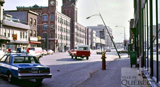 Saint-Roch dans les années 1980 (13) : accident sur le boulevard Charest Est - Jean Cazes