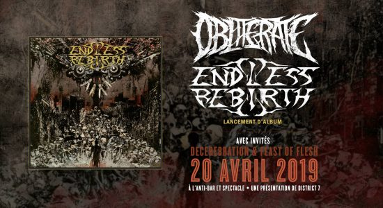 Lancement d'album Endless Rebirth