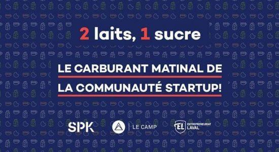 2 laits, 1 sucre — Matinée startups avec OfficiumLIVE