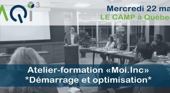 Atelier-formation Moi.Inc *Démarrage et optimisation*