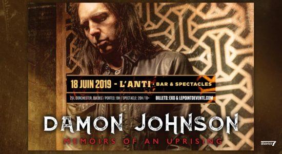 Damon Johnson (Brother Cane, Thin Lizzy, Alice Cooper)