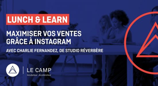 Lunch & Learn – Maximiser vos ventes grâce à Instagram