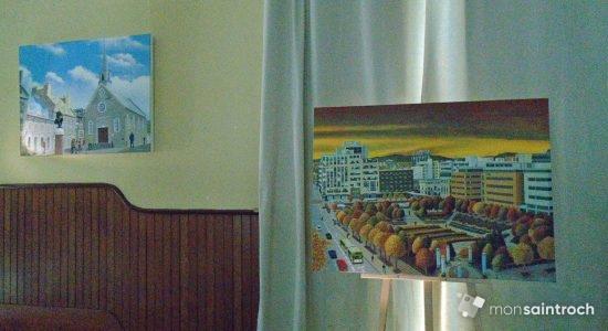Jean Pearson à La Nef, l'émergence d'un peintre à contre-courant - Suzie Genest