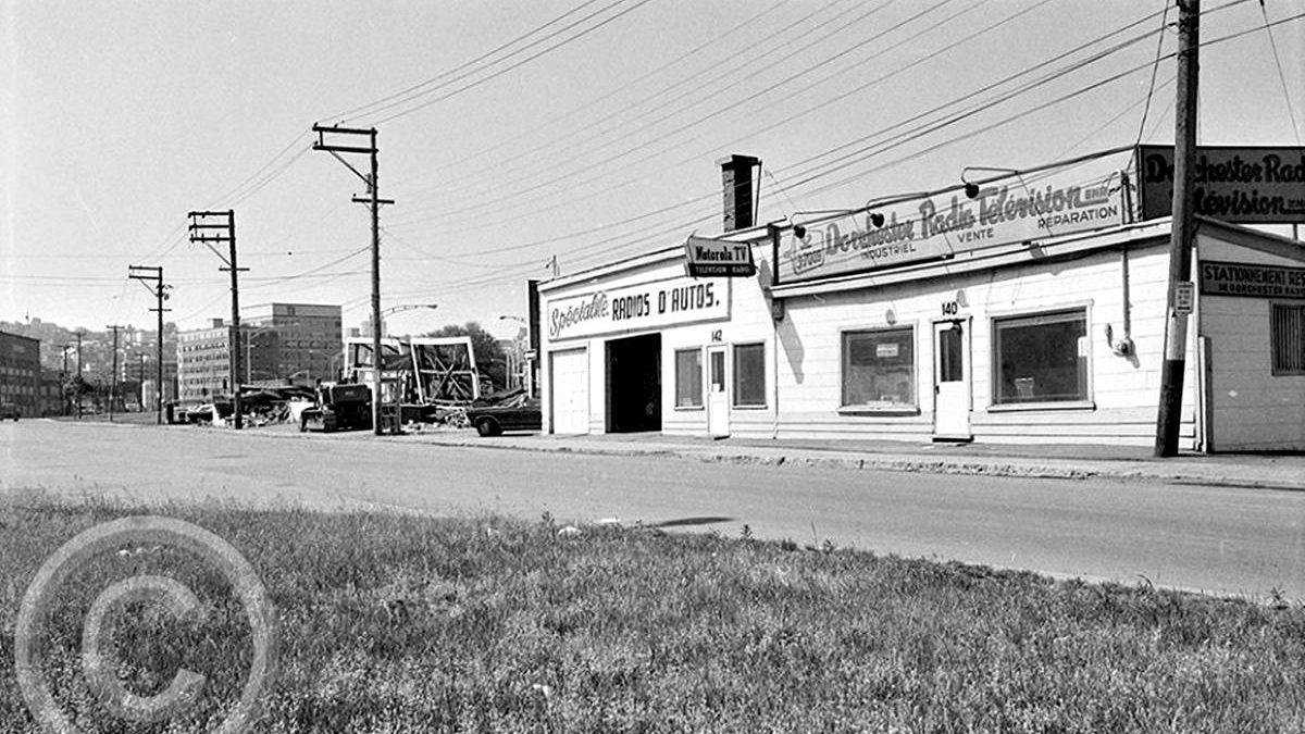 Saint-Roch dans les années 1970 (27) :  Dorchester Radio Télévision | 23 juin 2019 | Article par Jean Cazes