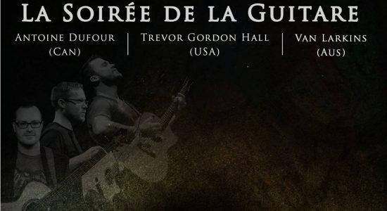 Soirée de la guitare : Antoine Dufour + invités