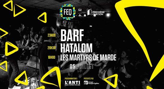 BARF • Hatalom • Les Martyrs de Marde