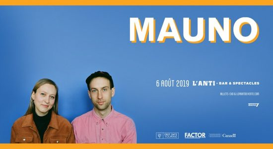 Mauno avec Bleu Nuit et LANE