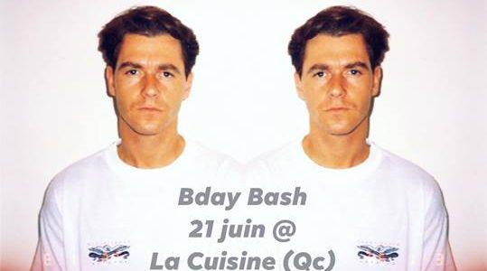 Bday Bash at La Cuisine (Qc)
