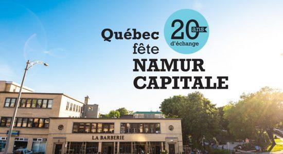 Québec fête Namur à La Barberie