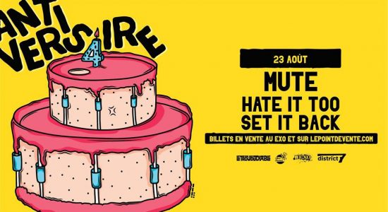 Mute avec Hate It Too et Set It Back