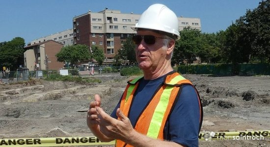 Mario Savard, archéologue consultant