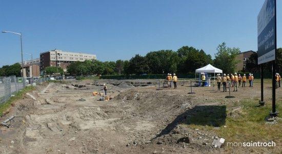 Découverte de sépultures au futur pôle d'échanges Saint-Roch - Jean Cazes