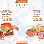 Nouvelle promotion estivale sur burgers et tartares - District Saint-Joseph
