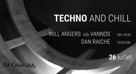 Techno & Chill (Will Angers, Vannos, Dan Raiche)