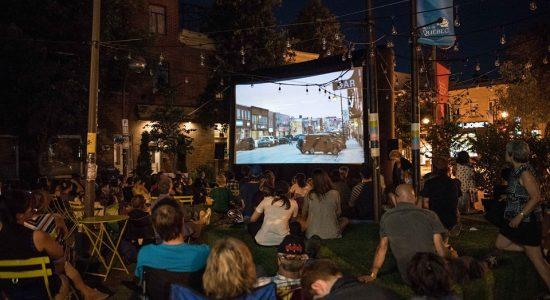 Cinéma en plein air / Courts métrages québécois