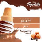 Trempage du mois de juillet : Cappuccino caramel - Chocolato