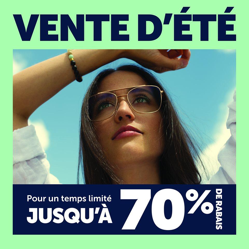 Vente d'été   Jusqu'à 70% de rabais   Lunetterie New Look
