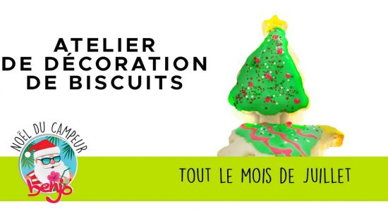 Atelier de biscuit de Noël