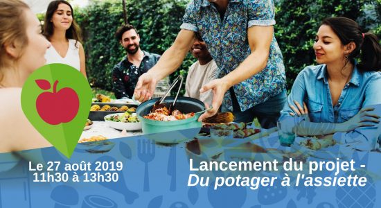 Lancement du projet – Du potager à l'assiette