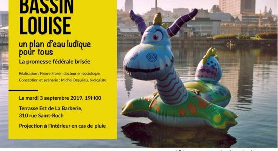 Documentaire « Bassin Louise » – Projection en plein-air