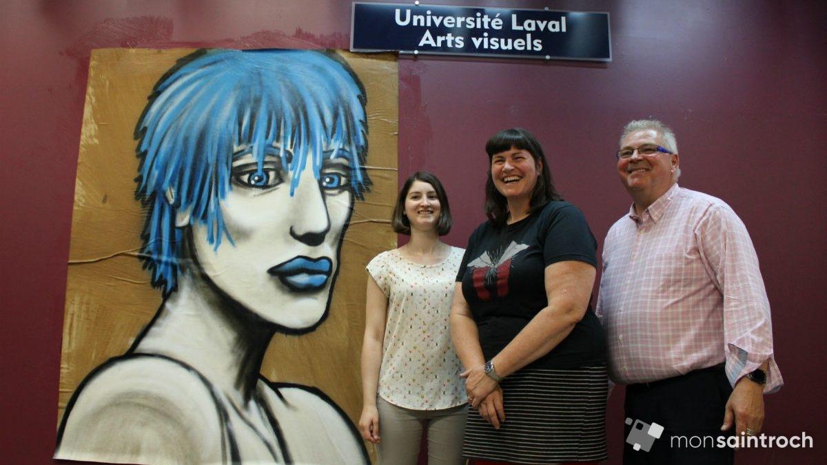 De l'art urbain éphémère à la bibliothèque Gabrielle-Roy | 7 août 2019 | Article par Véronique Demers