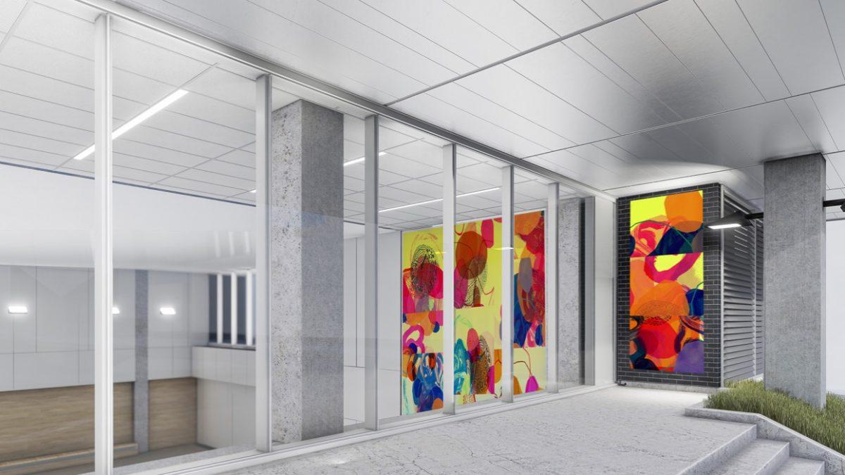 Une oeuvre d'art grandiose au centre YMCA | 26 août 2019 | Article par Amélie Légaré